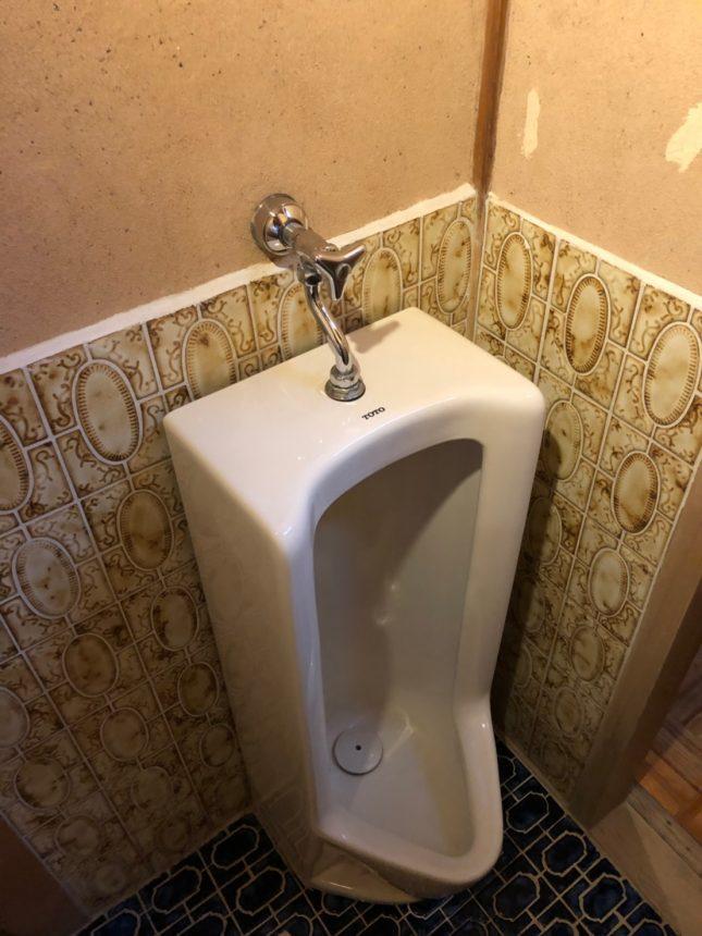 素敵なタイルを大切に活かしたトイレ