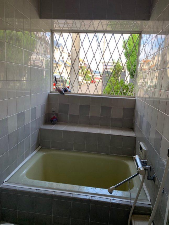 洗濯も干せる、機能的なお風呂
