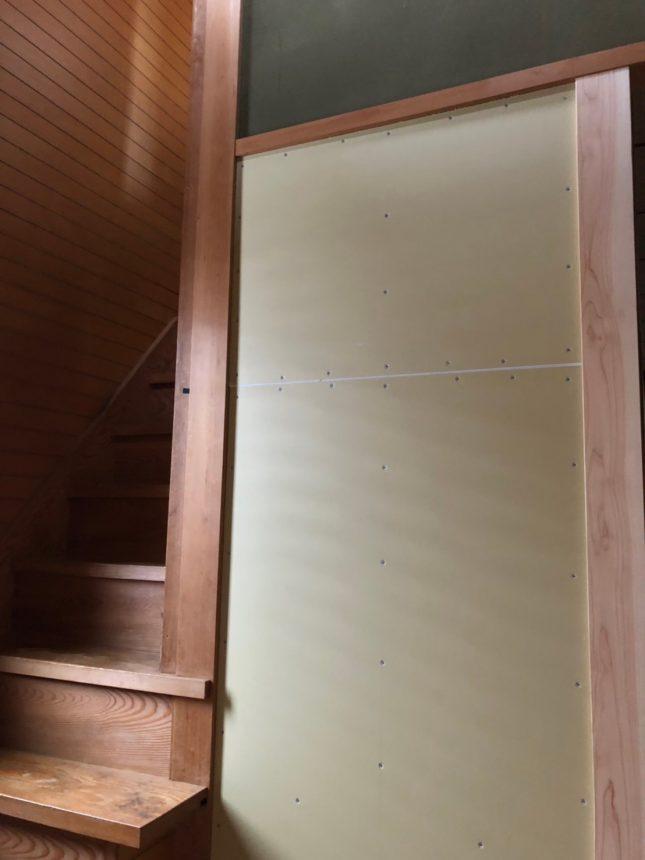 玄関クロスリフォーム