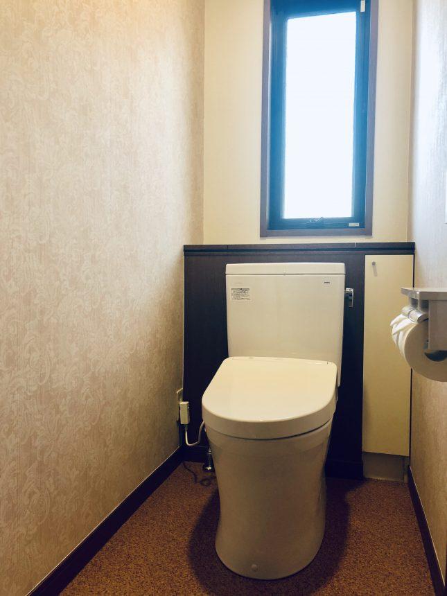 トイレリフォーム トイレ交換 トイレクロス