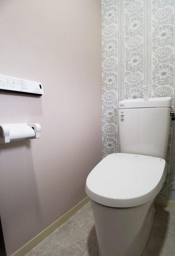 トイレ工事 トイレリフォーム FE-6334 FE-6128 サンゲツ