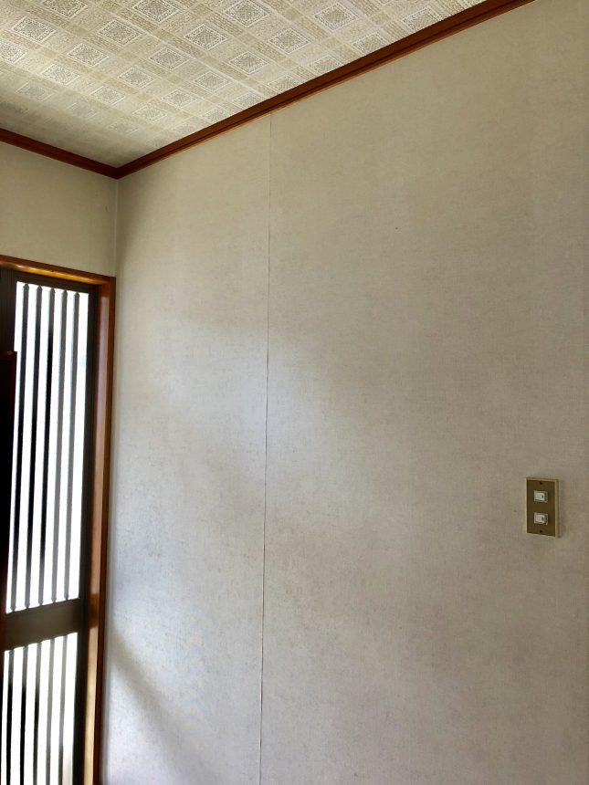玄関クロス クロス貼り替え 内装工事