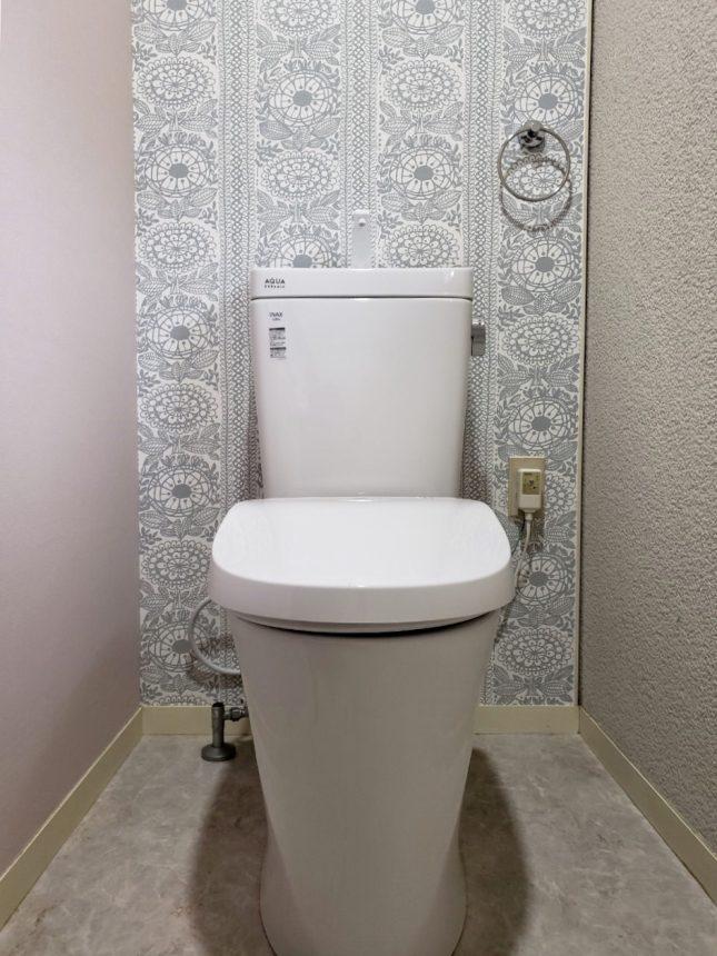 クッションフロアー:HM-4107 トイレ内装 トイレクロス