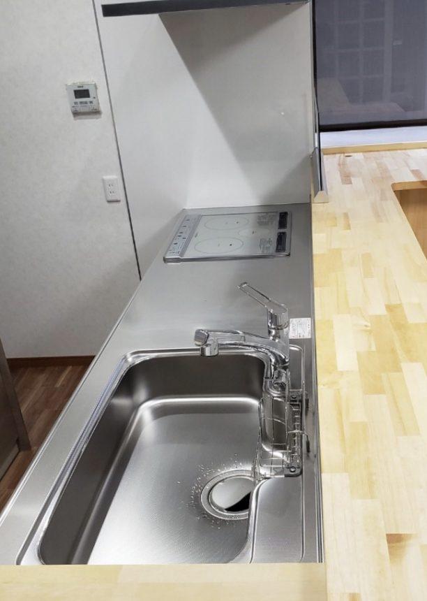 OSGの混合水栓一体型の浄水器