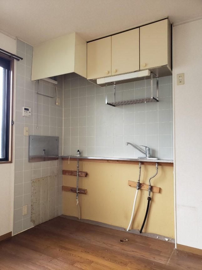 アパートキッチン交換工事 キッチンリフォーム