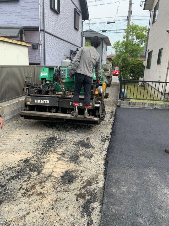 舗装工事 アスファルト 雑草対策