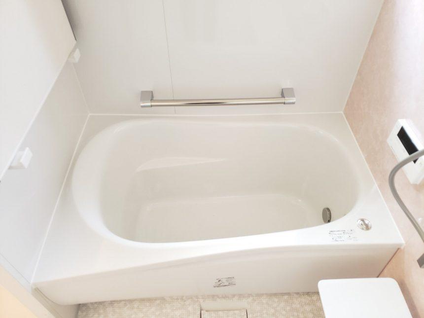 浴室リフォーム リフォーム多治見市 TOTO サザナ マテリアルアロマピンク