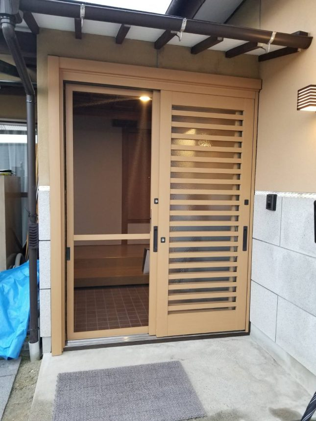 LIXIL リシェント 53型 玄関リフォーム 玄関扉 玄関引戸