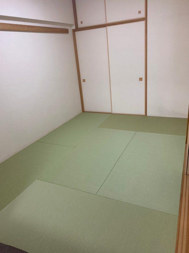 和室リフォーム 和室工事 畳取替え工事