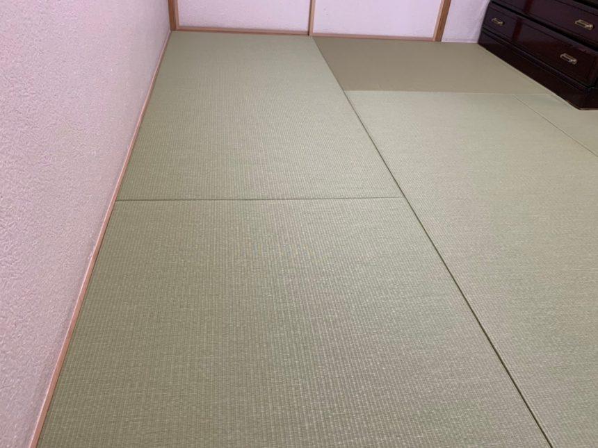 和紙畳 縁なし畳 マンション畳