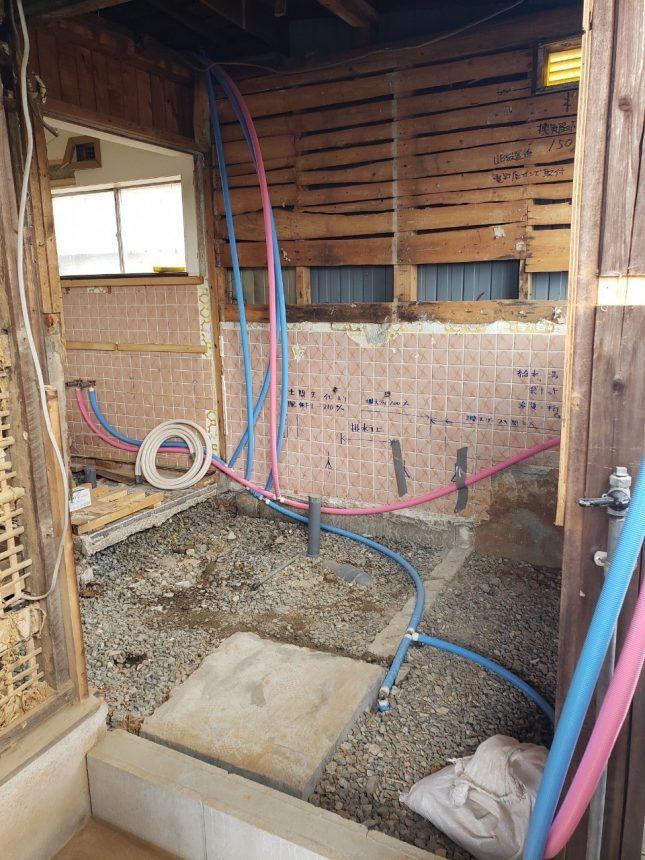 浴室リフォーム 洗面リフォーム 解体工事