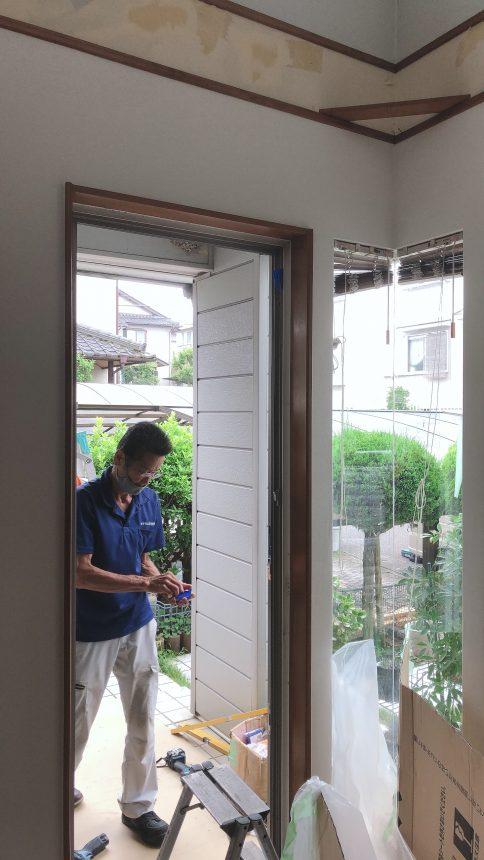 リクシル リシェント 玄関扉 玄関リフォーム
