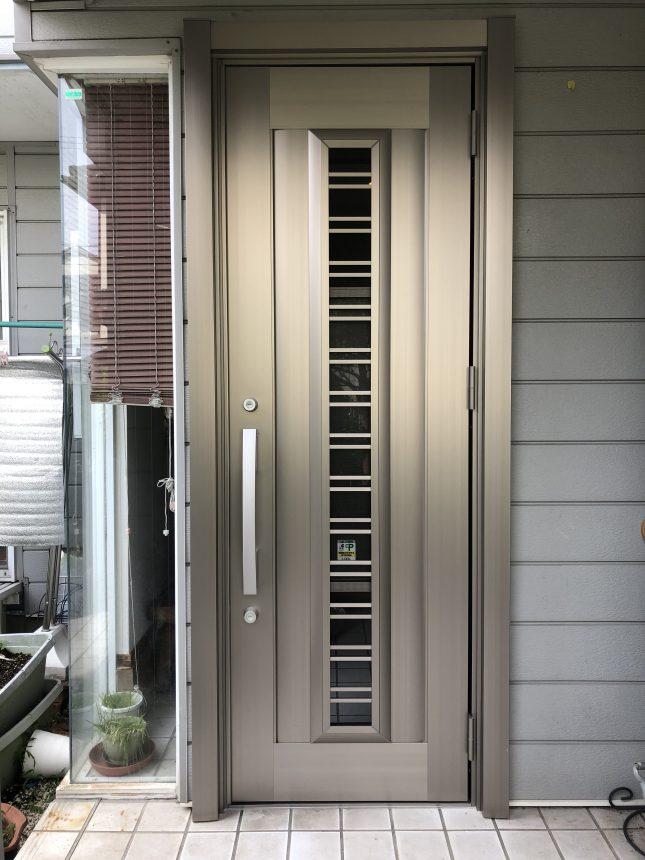 LIXIL リシェント C83N型(彩風タイプ)玄関リフォーム