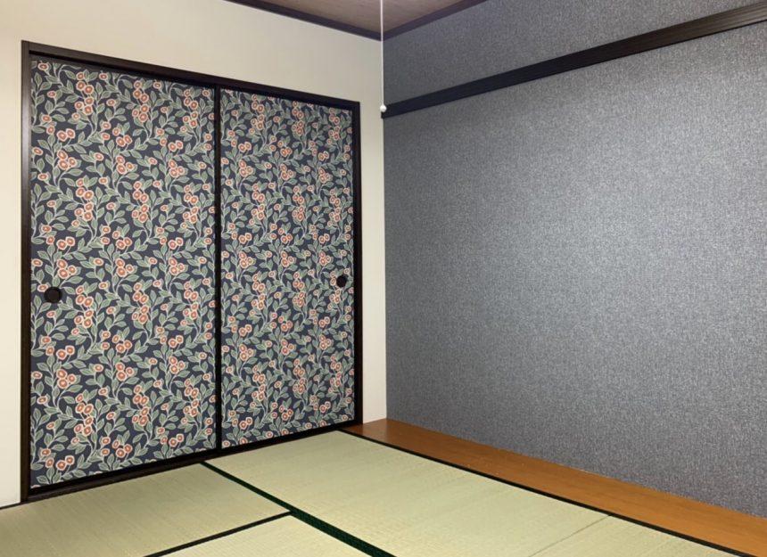 和室改修工事 和室内装 サンゲツ RE51430 RE51127