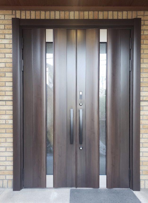 玄関扉 リクシル リシェント 玄関リフォーム 12N型